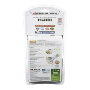 Monster Essentials High Performance HDMI Cables 6 Ft.