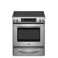 30-Inch 4-Element Electric Slide-In Range, Architect® Series II - Stainless Steel