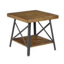 Emerald Home Chandler End Table Natural T100-01-15