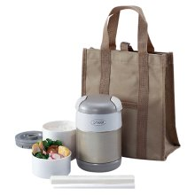 Lunch Boxe in Champagne Gold - 24oz (0.7L)