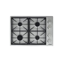 "Heritage 30"" Dual Gas Cooktop, Liquid Propane/High Altitude"