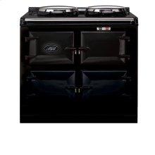 Black 3-Oven AGA Cooker (gas) Cast-iron range cooker