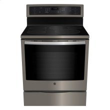 """30"""" Free Standing Induction Self Cleaning True Convection Range"""