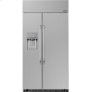 "Heritage 42"" Built-In Side-by-Side Refrigerator Product Image"