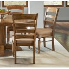 LADDERBACK UPHOLSTERED SIDE CHAIR Product Image