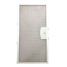 Dishwasher safe aluminum mesh filter that fits all model XOI27 hood.