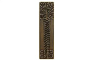 Royal Palm (Vertcal) - Antique Brass Product Image