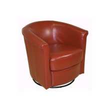 Marvel Swivel Chair, Orange, AC215