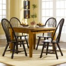 Retractable Leg Table - Oak Product Image