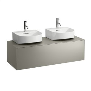 Gold & Nero Marquina Drawer element, 1 drawer, matching small washbasin 816341, cut-out left and right Product Image