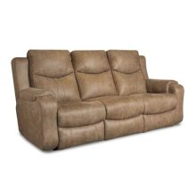 SOUTHERN MOTION 881-61P-186-16 Marvel Double Reclining Sofa with Power Headrests