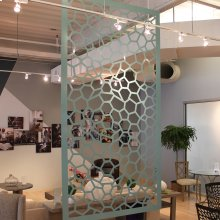 Hanging Room Divider, Honey