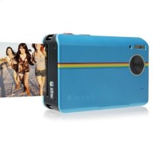 Polaroid 10-Megapixel Instant Print Digital Camera Z2300BL with ZINK Zero Ink Printing Technology, Blue