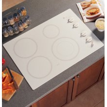 """GE Profile 30"""" Built-In CleanDesign Electric Cooktop - Factory New Sealed Carton"""