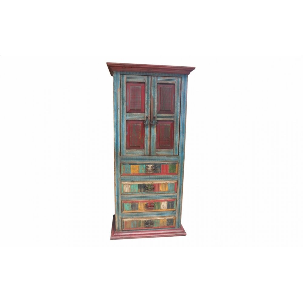 Factory 4 2-Door 4-Drawer Armoire