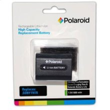 Polaroid High Capacity Sony FH70 Rechargeable Lithium Replacement Battery