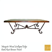 Mesquite Wood Dining Table