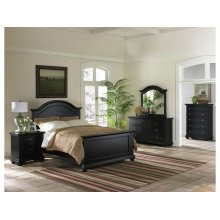 BP800NSB Brook Black Nightstand