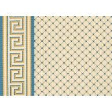Ardmore - Yellow-Blue on White 0631/0005