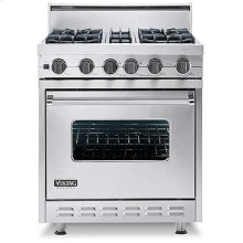 "Lemonade 30"" Open Burner, Self-Cleaning Range - VGSC (30"" wide range with four burners, single oven)"