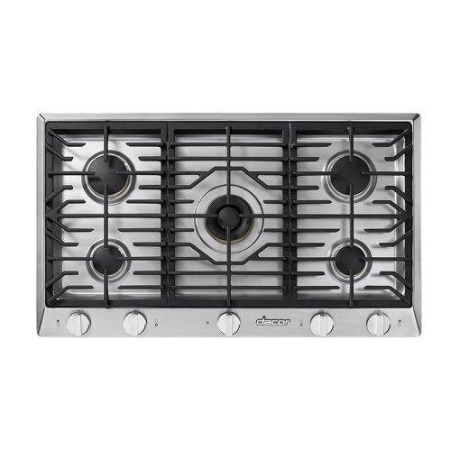 """Heritage 36"""" Professional Gas Cooktop, Natural Gas/High Altitude"""