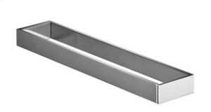 Towel bar two-piece fixed - chrome Product Image
