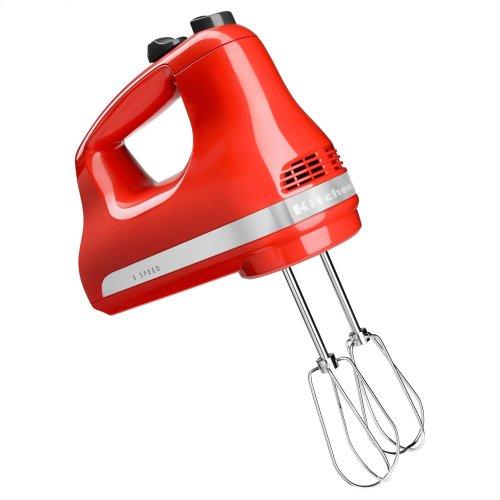 5-Speed Ultra Power Hand Mixer - Hot Sauce