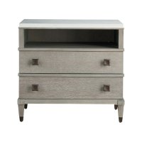 Two Drawer Nightstand Product Image