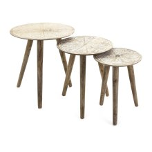 Cashel Round Tables - Set of 3