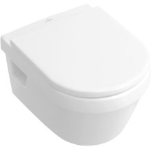 Wall-mounted toilet - White Alpin