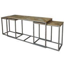 Nesting Console Tables, Set Of 3
