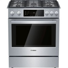 800 Series Gas Slide-in Range 30'' Stainless steel