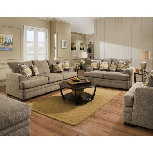 3650 - Perth Pewter Loveseat