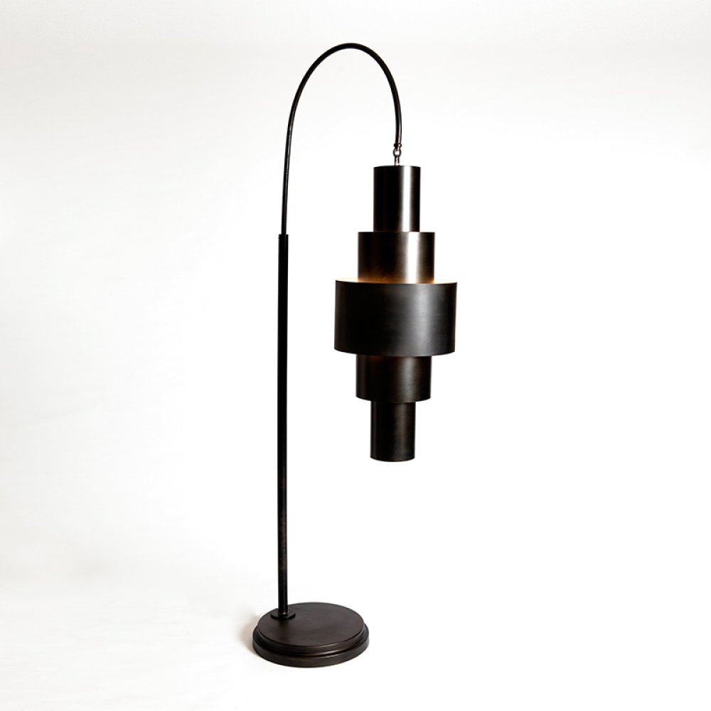 Babylon Floor Lamp-Bronze