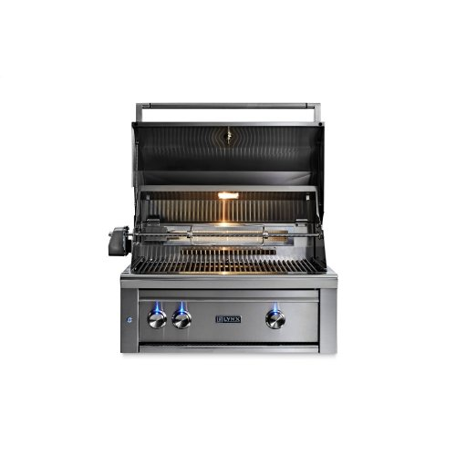 """30"""" Lynx Professional All Trident Built In Grill Rotisserie, LP"""
