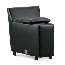 Snooze Angled Console With 2 Cupholders and Storage