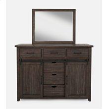 Madison County Door Dresser - Barnwood
