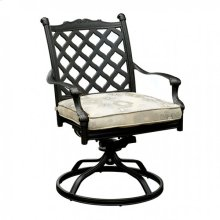 Chiara I Fabric Rocker Chair