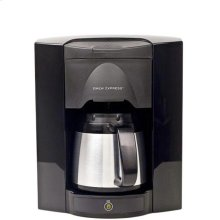 Built-In 4 Cup Single Button-Black