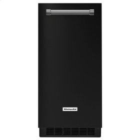 15'' Automatic Ice Maker with PrintShield Finish - Black