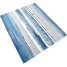 Azure Watercolor Rug 8x10 Product Image