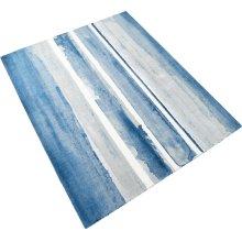 Azure Watercolor Rug 8x10