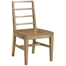 Ember Grove Wood Seat Slat-Back Side Chair