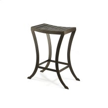 Molina B525H26XB Non Swivel Backless Bar Stool