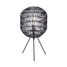 Turin Outdoor Woven Table Lamp