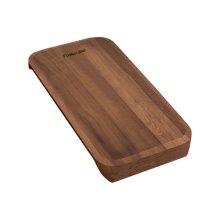 Iroko-wood sliding chopping board 8643 116