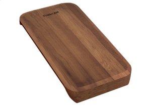 Iroko-wood sliding chopping board 8643 116 Product Image