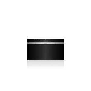 """30"""" M Series Contemporary Black Glass Convection Steam Oven with Retractable Handle"""