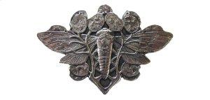 Cicada on Leaves - Brite Nickel Product Image