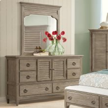 Myra - Door Dresser - Natural Finish